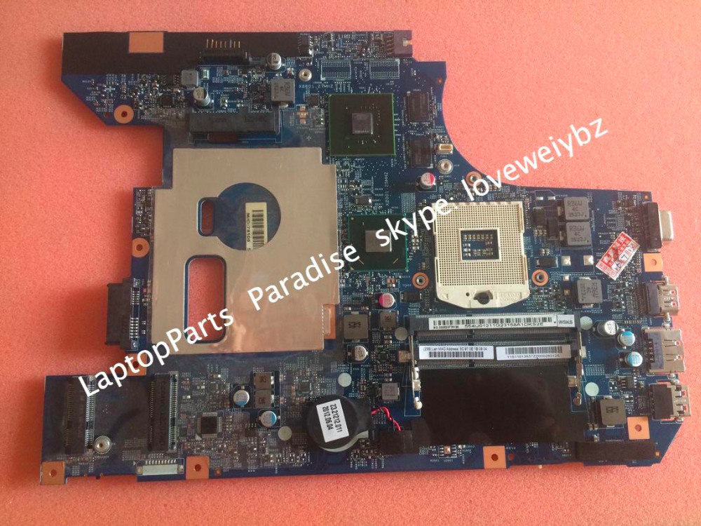 ФОТО Brand new For lenovo B570 Notebook Motherboard 48.4PA01.021 Mainboard with Geforce 410M video card