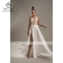 Swanskirt Wedding Dress boho vestido de noiva Fairy skirt
