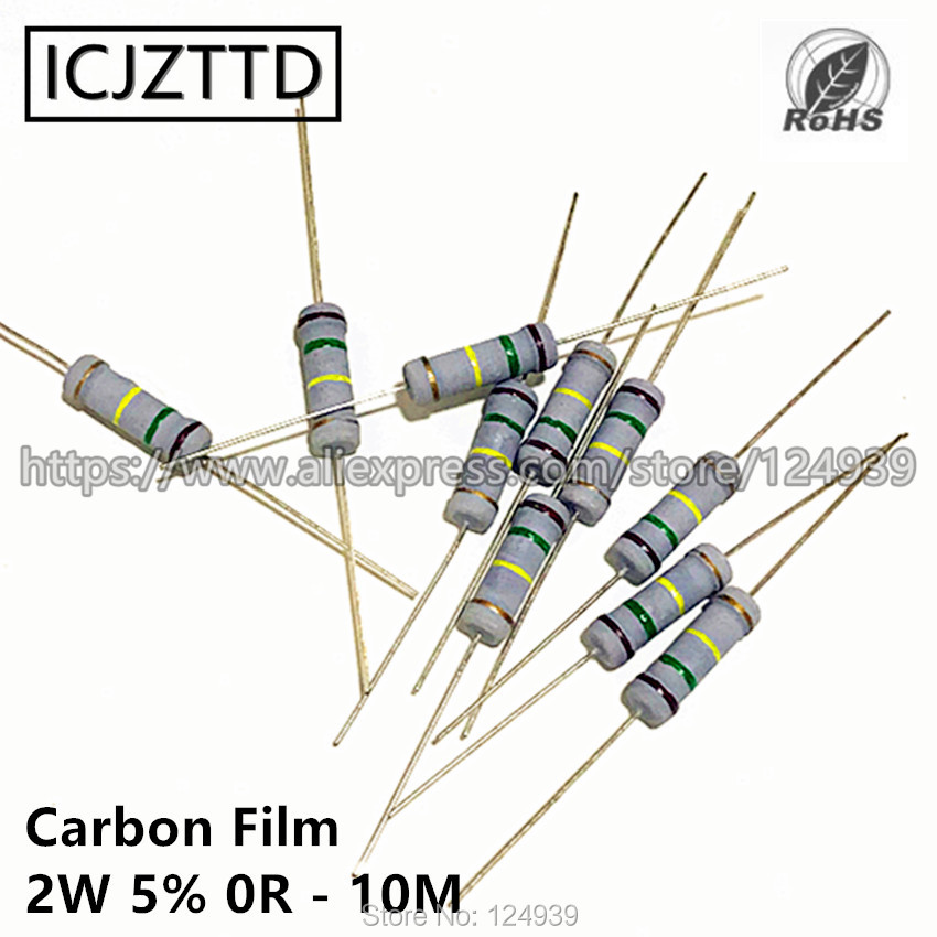 3.9K 0.25W Carbon Film Resistor 3K9 Pack of 50
