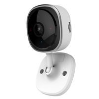SANNCE HD 1080P Fisheye Wireless IP Camera Wifi Mini Network Camara IR Night Home Security Camara