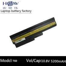 5200mAh Battery for IBM Lenovo ThinkPad R60 R60e R61 R61e R61i T60 T60p T61p R500 T500 W500 SL400 SL500 SL300 SL510