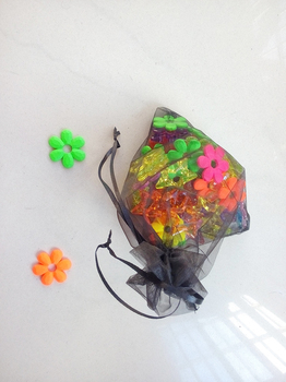 30*40cm 200pcs Organza Bag black Drawstring bag jewelry packaging bags for tea/gift/food/candy small transparent pouch Yarn bag