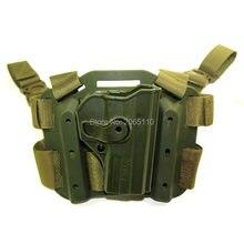 Caza táctica Sig Sauer Pro SP2022 pistolera militar pierna caída muslo Holsters para P220 P09 Airsoft Paintball Accesorios