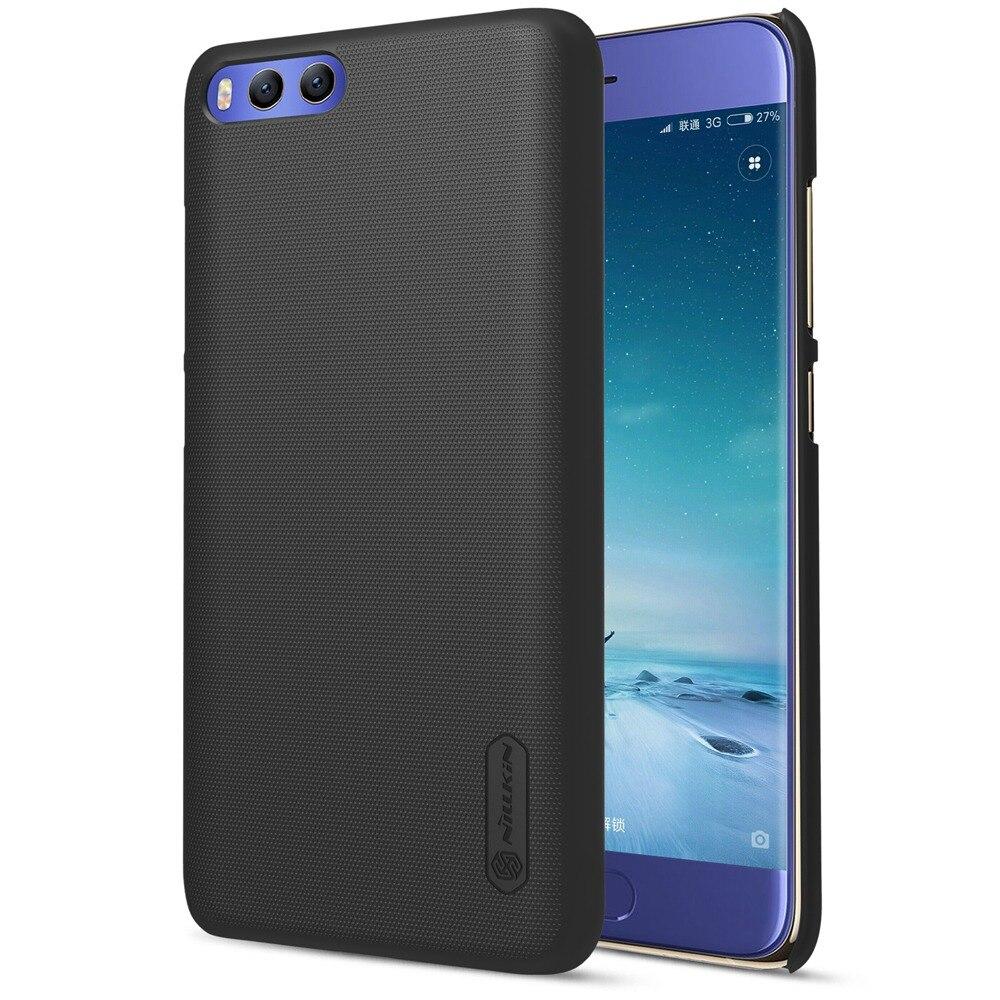 for Xiaomi mi6 case cover Nillkin frosted case for xiaomi mi6 mi 6 Black Gold