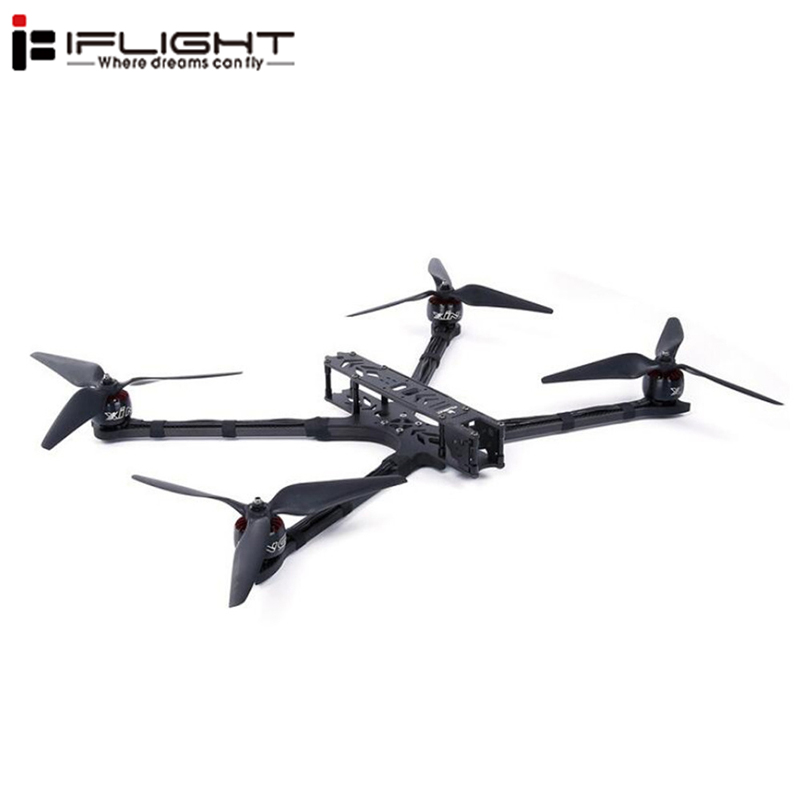 iFlight DC10 472mm Wheelbase 6mm Arm Thickness 10 Inch Long Range 3K Carbon Fiber Frame Kit RC Models Spare Part DIY AccessoriesiFlight DC10 472mm Wheelbase 6mm Arm Thickness 10 Inch Long Range 3K Carbon Fiber Frame Kit RC Models Spare Part DIY Accessories