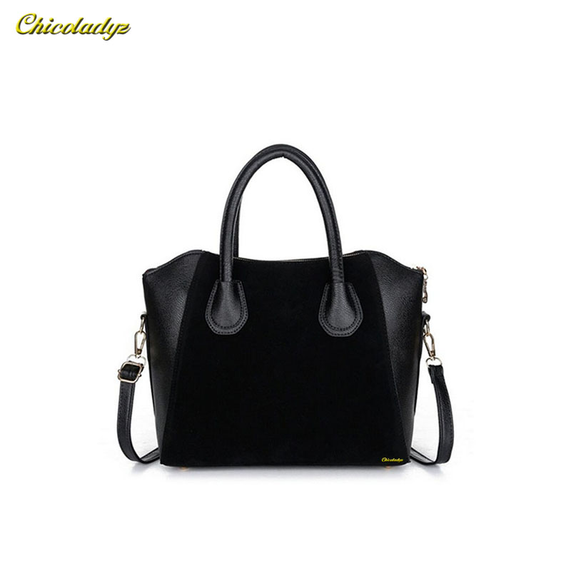 CCHICOLADYZ 2015 Fashion bags women handbag spring nubuck leather bags women messenger bag free shipping bolsos mujer cz08 dhl ems free shipping for bmw x5 rear left right air suspension spring bag 37126790078 cars spring bag