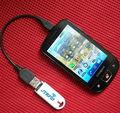 125 Khz RFID ID EM leitor Mini USB suporte IPAD Android para controle de acesso