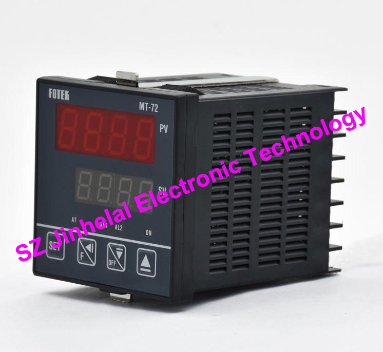 цена на 100% Authentic original FOTEK Temperature controller MT72-L 90-265VAC 4-20mA output