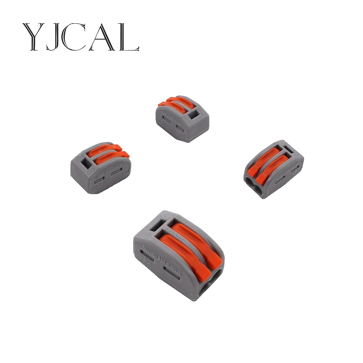 Wago Type 222-412 30PCS Universal Compact Wiring Conector Terminal Block Connectors Terminator Wire Connector AWG 28-12 10 pieces lot 222 413 universal compact wire wiring connector 3 pin conductor terminal block with lever awg 28 12