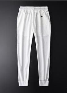 Image 2 - Minglu Men Jogger Pants Luxury Fashion Side Contrast Color Casual Pants Men Plus Size 4xl Summer Slim Fit Sport Mens Trousers