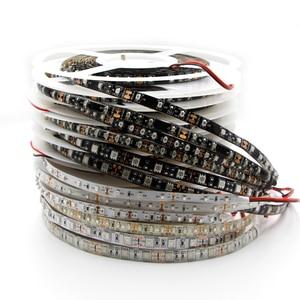Image 5 - LED ストリップライト 600nm 真オレンジ SMD 5050 3528 ストリップリボンダイオードテープロープライト 12 ボルト 1 メートル 2 メートル 5 メートル柔軟なストリップ文字列ランプ