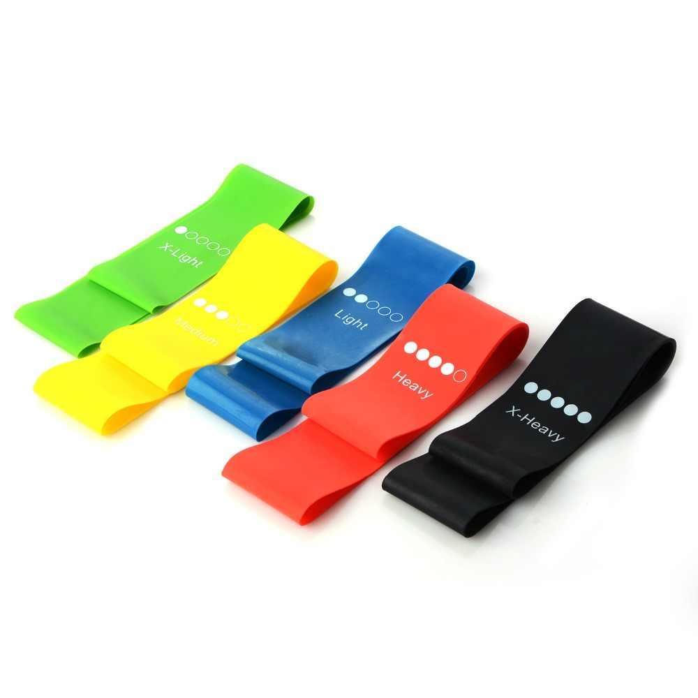 MrY joga taśmy oporowe sprzęt do ćwiczeń gumowa pętla Pilates Sport trening do ćwiczeń, elastyczne opaski