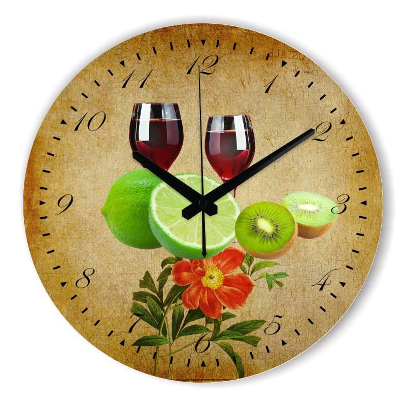La cocina de dise o moderno del reloj de pared con esfera - Reloj de pared para cocina ...