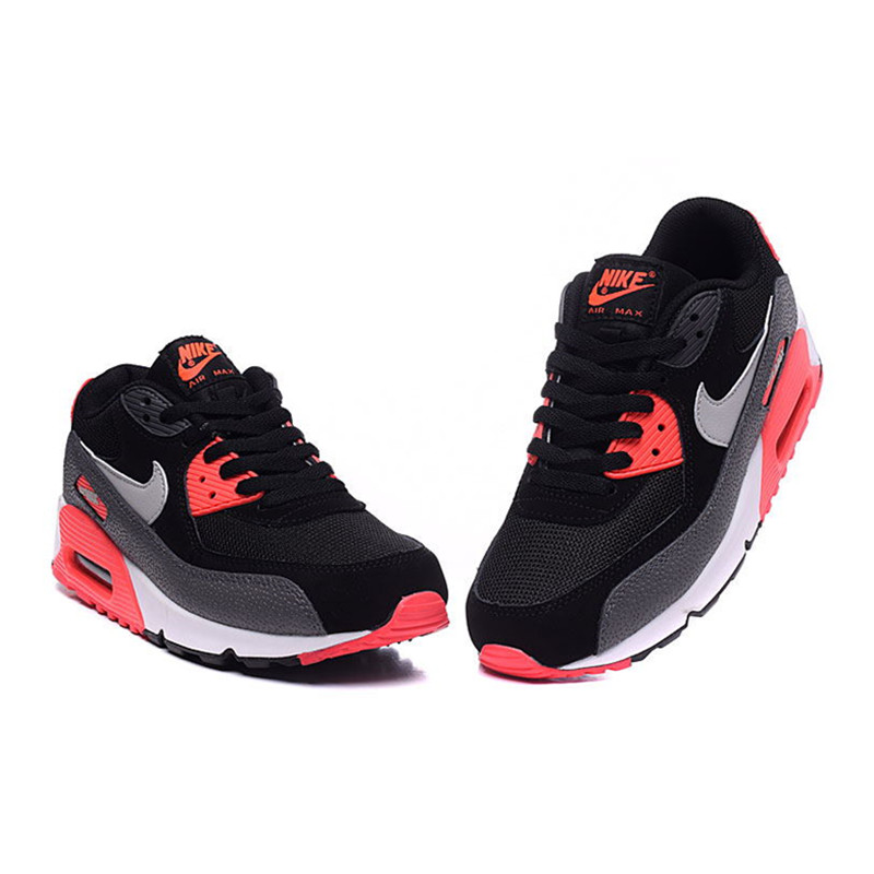 Brand Nike WMNS AIR MAX 90 ESSENTIAL Women's Sports Running Shoes New Breathable Air Mesh Outdoor Sneakers Lace Up 537384