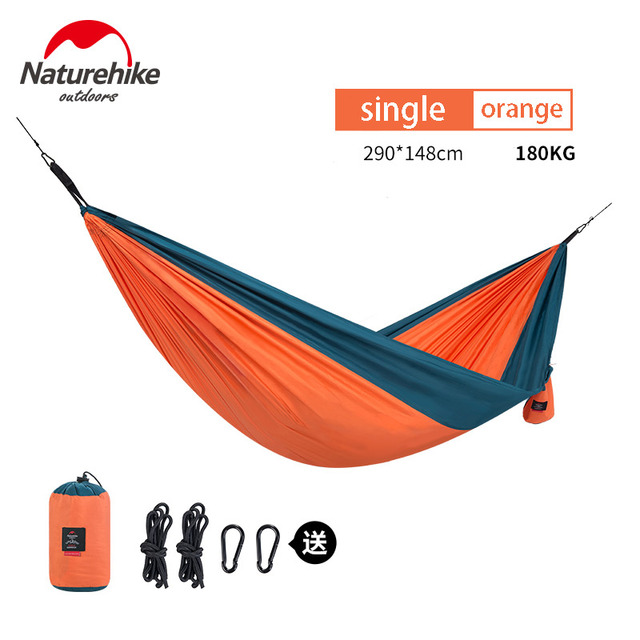 NatureHike Ultralight Hammock Outdoor Camping Hunting Hammock Portable Double person HAMMOCK  NH17D012 5