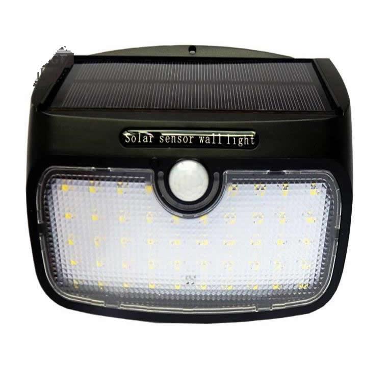 48 led staccabile Luce di pannello solare ha condotto la lampadina lampada da parete motion sensor impermeabile ip65 per la sicurezza di emergenza patio strada - 2