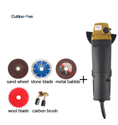 Powerful  220v 1000w 100mm  electric hand Angle Grinder polishing  machine cutting  kit
