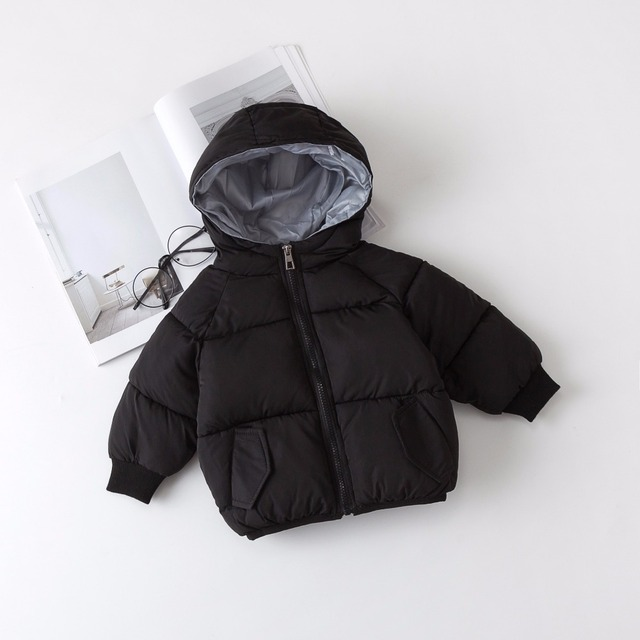 New Baby Girl and Boy Coat  Infant Hoodie Thickness Autumn Winter Infant  Jacket  Baby Coat  8BB015