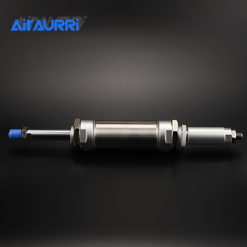 Smm Airtac type Bore 32mm MAJ 32 Adjustable Cylinder Stroke 25 50 75 100 125 150 200 in Pneumatic Parts from Home Improvement
