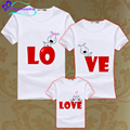 2017 New Family Clothing Sets Short Sleeve dad mom baby Family Matching Outfits Mommy And Me Father Son Matching Clothes