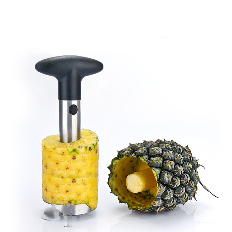 Cooking Hot Sale Stainless Steel Pineapple Peeler for Kitchen Accessories Pineapple Slicers Fruit Knife Cutter Kitchen Tools