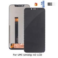 Original For UMI Umidigi A3 LCD Display Touch Screen Digitizer Assembly Repair Parts For UMI A3 LCD Display Screen Free Tools