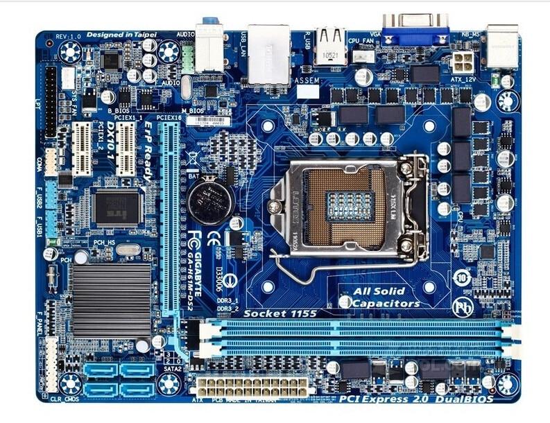 Gigabyte GA-H61M-DS2 motherboard H61M-DS2 DDR3 LGA 1155 placa base