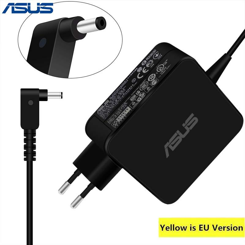 ASUS 19 v 3.42A 65 watt 4,0*1,35mm AC Laptop Power Adapter Reise Ladegerät Für Asus Zenbook UX310UA UX305CA UX305C UX305UA UX305F