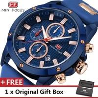 MINI FOCUS Wrist Watch Men Top Brand Luxury Famous Male Clock Quartz Watch Wristwatch Quartz Watch