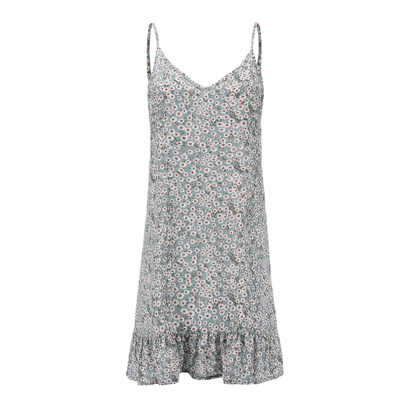 HTB1yf7QKSzqK1RjSZFHq6z3CpXaY MUQGEW floral dress women dresses summer 2019 Women's Printing Off-Shoulder short Sleeve Mini Dress Princess Dress#Y3