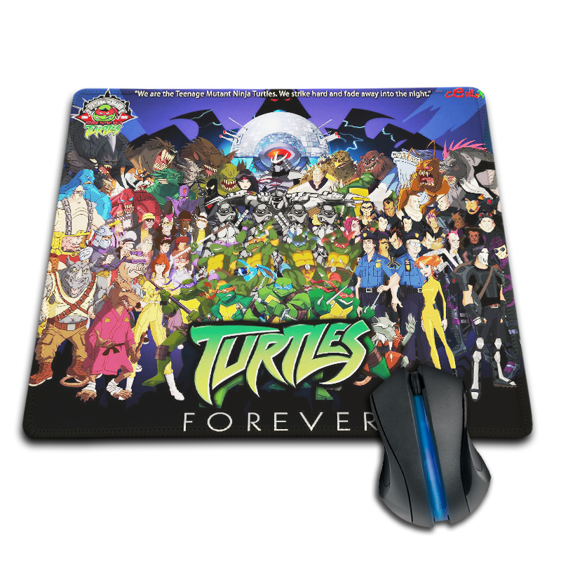 New Arrival Teenage Mutant Ninja Turtles Characters Customized Mouse Pad Fashion Cool Computer Notebook Laptop Gaming Mice Mat