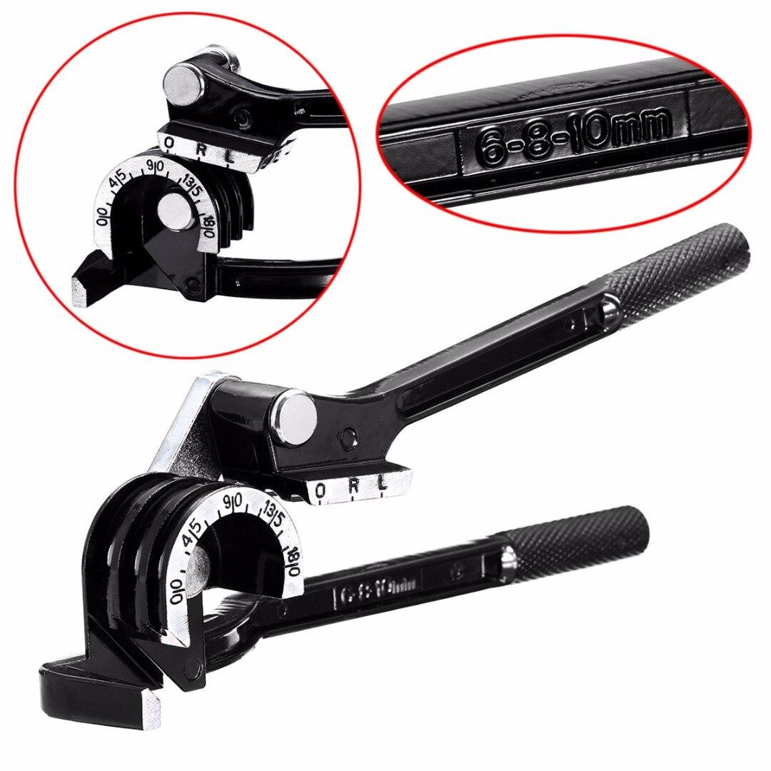 Black CT-369 180 Degree Pipe Bender 3 in 1 Aluminum Copper Pipe Tube Bending Tool 6 8 10mm
