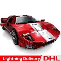 XingBao 03011 Block Genuine Creative Technic Kits Red Phantom Racing Car Set Building Blocks Bricks lepinings Toys Clone LP