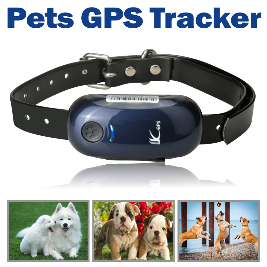 Mini Pet GPS Tracker Dog Real Time Hunting Dog Outdoor Positioning Tracking Locator Collar In