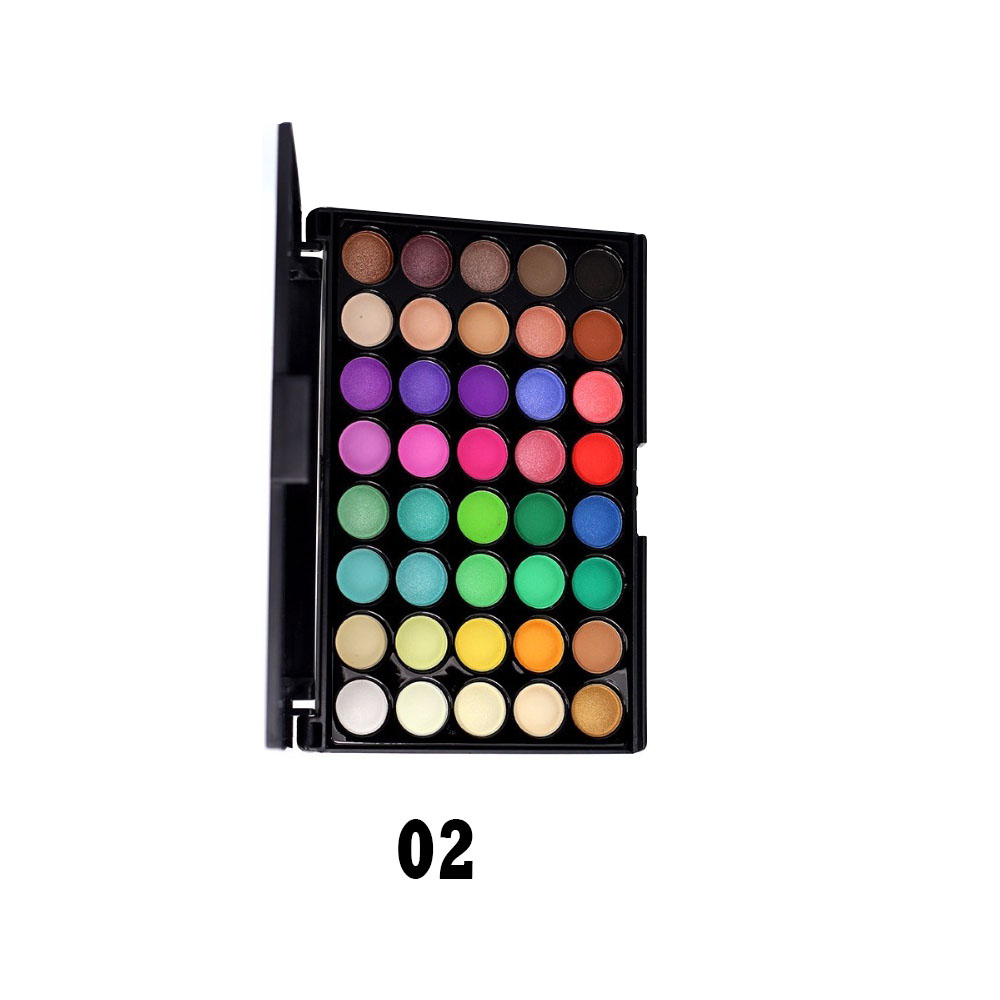 Beauty Essentials Lower Price with Best Deal New Fashion Multi-color Cosmetic Matte Eyeshadow Cream Makeup Eye Shadow Palette Shimmer 40 Color Eyeshadow Pigment Beauty & Health