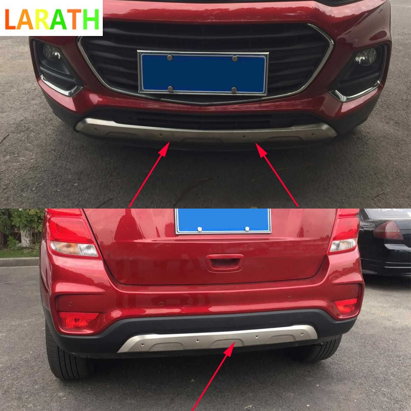 2pcs/set For Chevrolet Trax 2014 2018 Stainless Steel