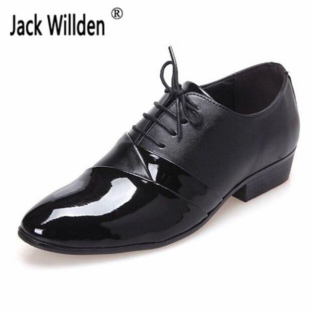 Chaussures de mariage à lacets noires Casual homme 5QCNQgwBL
