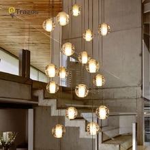 LED Chandeliers Lights Loft Coffee Bedroom Lighting lustres e para sala de jantar Modern Glass Pendant Lamps