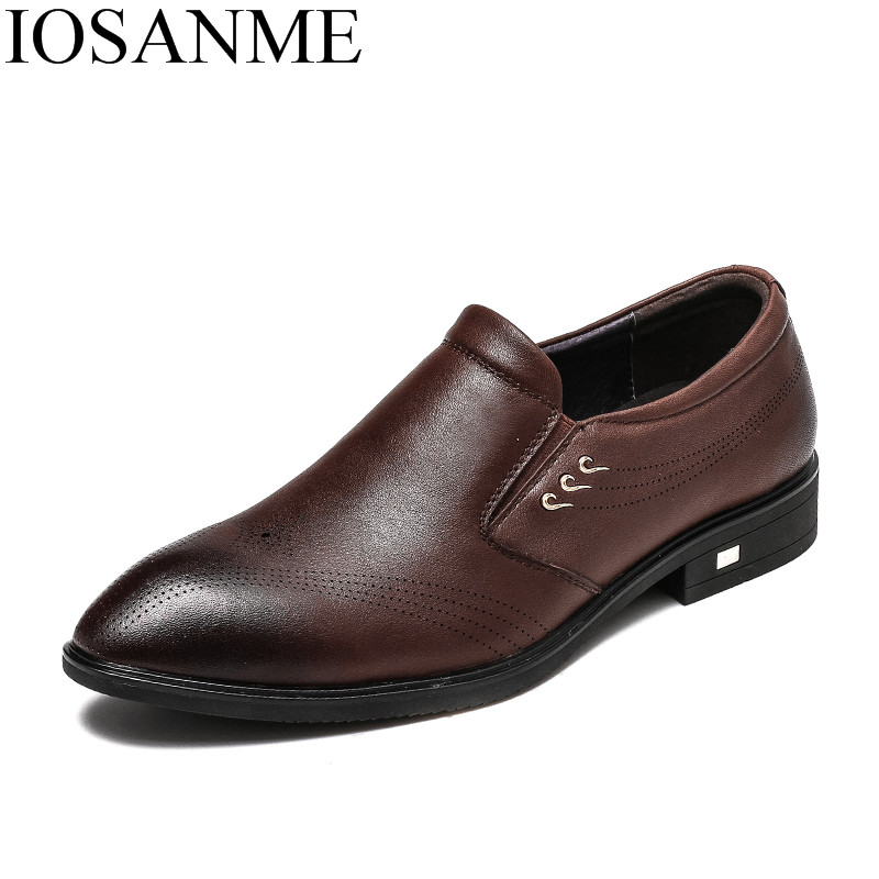 famous brand genuine leather men shoes italian slip on wedding office male footwear classic dress brogue oxford shoes for men men shoes genuine leather italian designer fashion dress shoes classic formal brogue shoes for male footwear wedding business