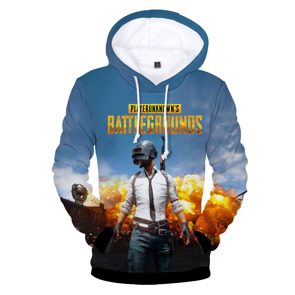 Aikooki New PUBG 3D Hoodies Men/women Fashion Hot Game Playerunknown's Battlegrounds PUBG 3D Print Men's Hoodies And Sweatshirt
