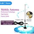 dual band  900/1800Mhz mobile antenna GSM/CDMA antenna sma-m connector 3 meters cable for YAESU VX-3R TONGFA UV985 baofeng UV-3R