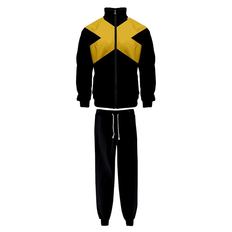Jaqueta X-Men: Fênix Negra novo casaco cosplay hoodies feminino cosplay traje suor feminino hoodies calças superiores para adultos