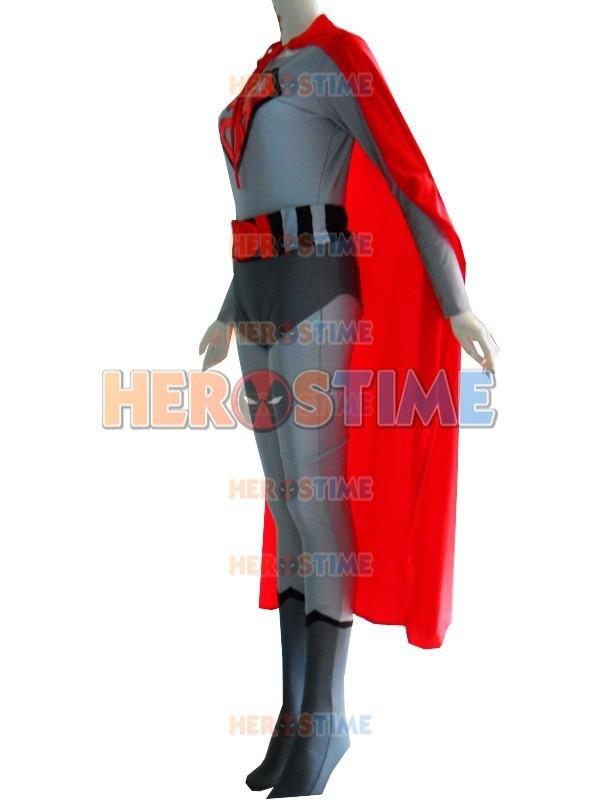 Klassikaline punane poeg superman kostüüm halloween Cosplay partei - Kostüümid - Foto 2