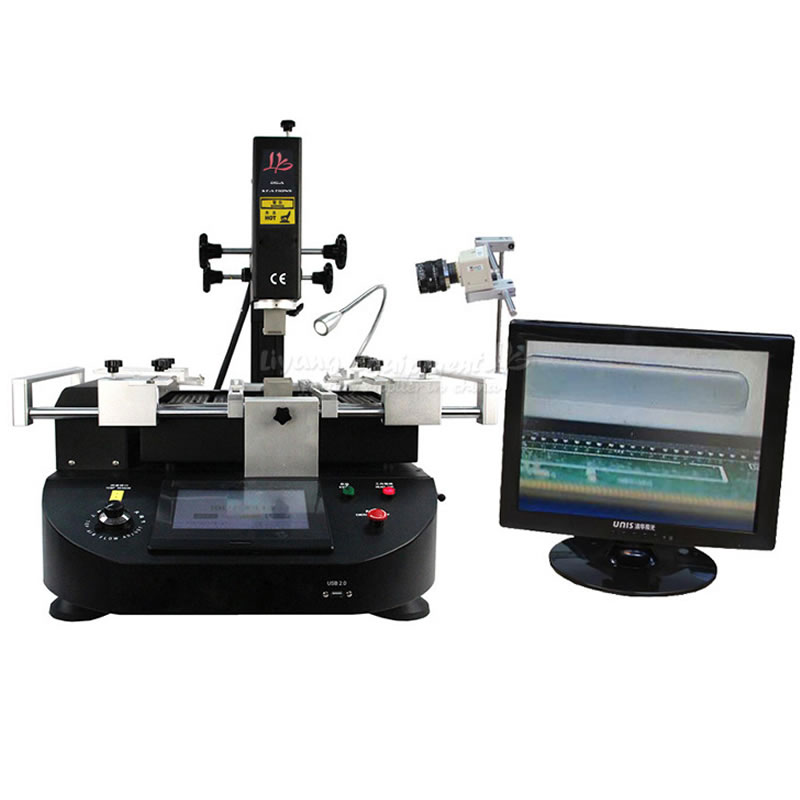 LY R5860C 4500W 3 Zones Hot Air Soldering Station with CCD Camera for Laptop Motherboard Chip BGA Rework Repair цены