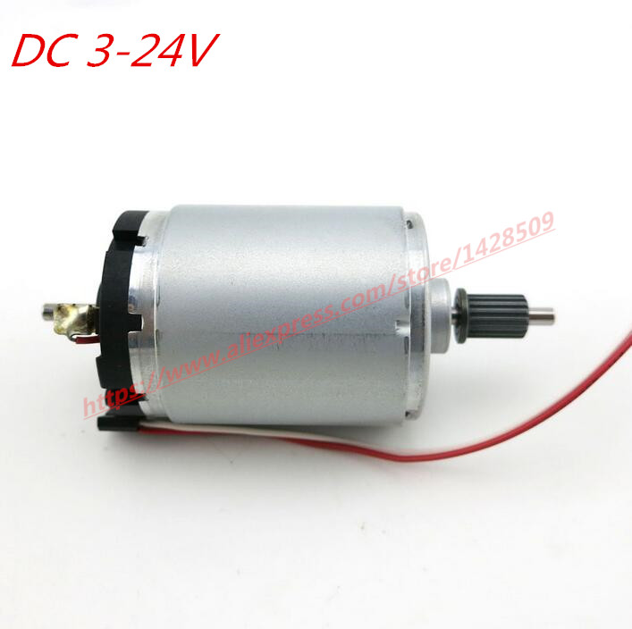 545 hight quanlity DC 3-24V metal motor low noise DC-motor High speed large torque dc motor for Modeling mini saw adaptable theories for modeling urban noise propagation