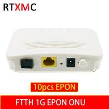 1 peças 1G 1 porto GEPON ONU EPON OLT 1.25G Chipset 1ge ftth gepon ONU EPON ZTE 1.25G FTTB FTTB Fibra para casa Única Porta LAN