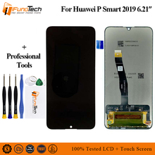 AAA LCD for Huawei P Smart 2019 LCD Display Digitizer Assembly Touch Screen LCD Display TouchScreen P Smart 2019 Repair Part LCD 6 21original display for huawei p smart 2019 lcd display screen touch digitizer assembly p smart 2019 display repair parts tool