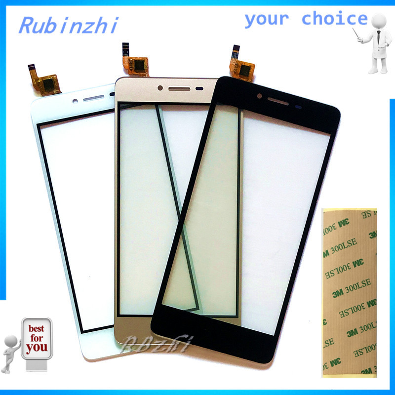 RUBINZHI Phone Touch Panel Touchscreen For Micromax Q409 Touch Screen Front Glass Capacitive Sensor Lens Parts +tape