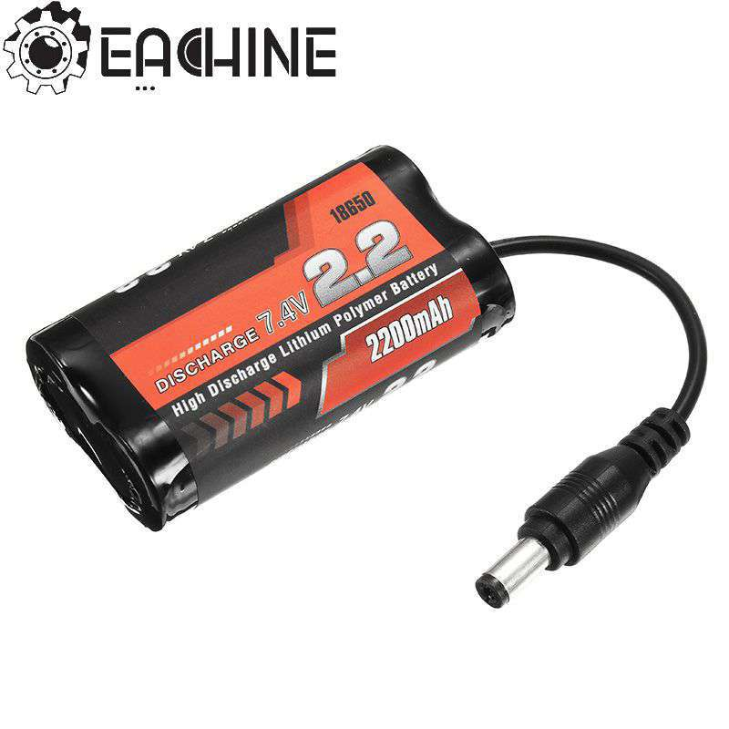 High Quality Eachine VR D2 Goggles Two VR D2 Pro FPV Goggles Spare Part 7.4V 2200mAh Li-ion Battery For RC Toys Models последний бой штрафника