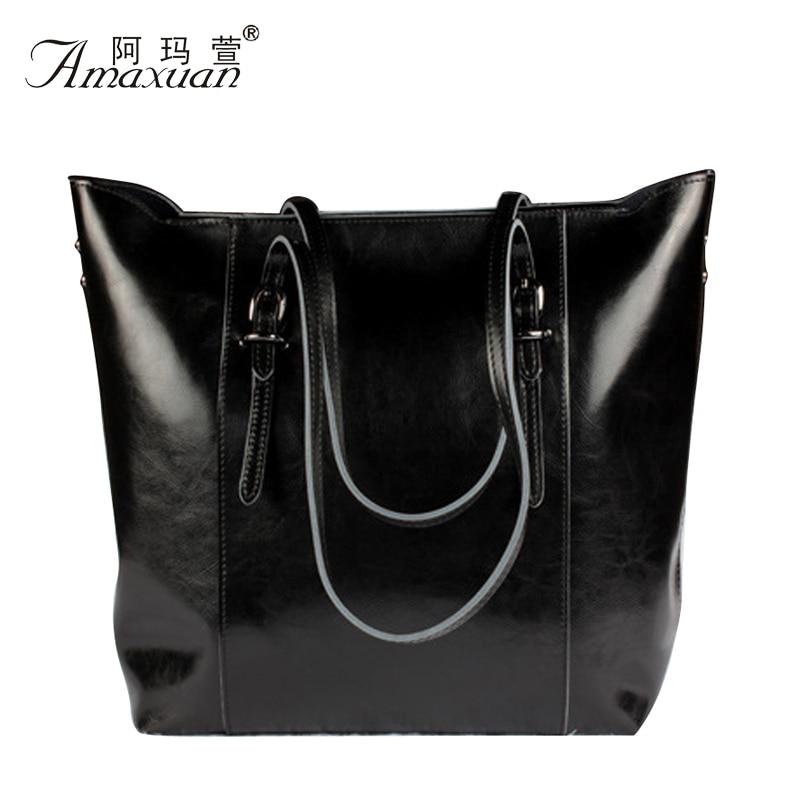 100% Genuine Leather Bags Brnad Women leather Handbags Shoulder Bags Ladies Designer Handbags High Quality Bolsos Mujer BH845
